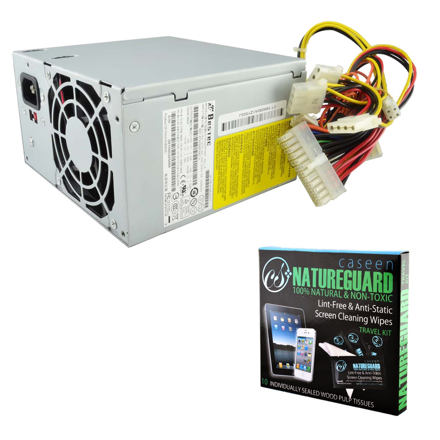 Amazon.com: Genuine Bestec ATX0300P5WC Rev: A 300W Power Supply HP P ...