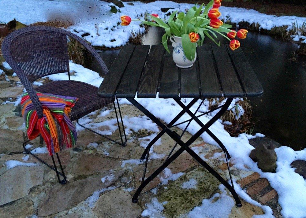 Antikas - Gartenmöbel, 2 sehr bequeme Rattan Stühle Korbgeflecht ...