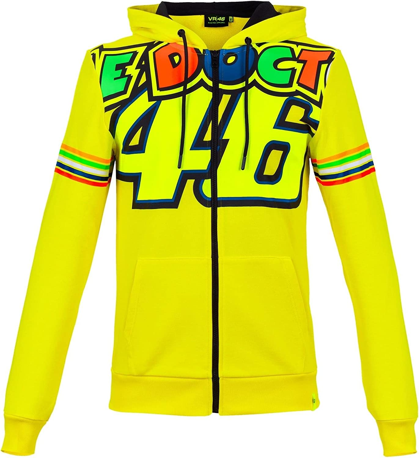 TALLA XS. Valentino Rossi VR46 Woman The Doctor 46 Full Zip Hoodie 2018