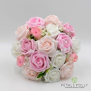Seide Hochzeit Blumen Handarbeit von Petals Polly, Brautjungfern ...