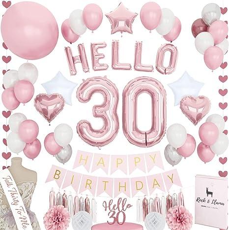 Marvelous Amazon Com Stunning 30Th Birthday Decorations Talk 30 Sash Hello Funny Birthday Cards Online Alyptdamsfinfo