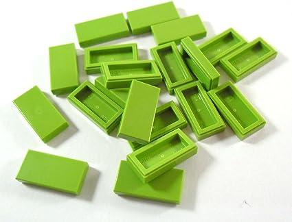 20 NEW LEGO Brick 1 x 1 Lime