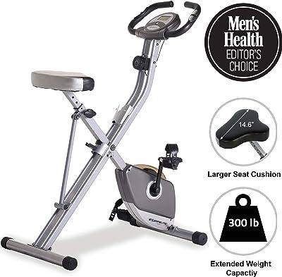 Exerpeutic Folding Magnetic Upright Exercise Bike - Best Folding Exercise Bike