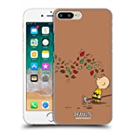 Official Peanuts Autumn Charlie Brown Hard Back Case Compatible for iPhone 7 Plus/iPhone 8 Plus