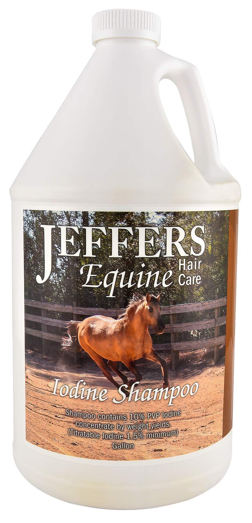 Jeffers Iodine Medicated Shampoo, Gallon by Jeffers