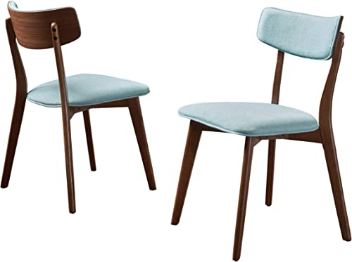 Christopher Knight Home Chazz Mid-Century Fabric Dining Chairs