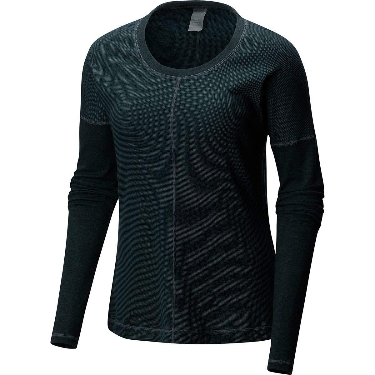 88bdcad259c Amazon.com  Mountain Hardwear Womens EDP¿ Waffle Long Sleeve Shirt  Clothing