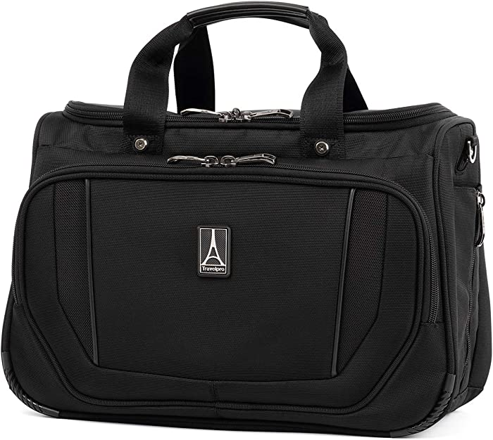Travelpro Crew Versapack-Deluxe Tote Bag, Jet Black, One Size