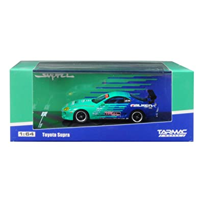Tarmac Works Toyota Supra Falken Tires 1/64 Diecast Model Car T64-011-FAL: Toys & Games