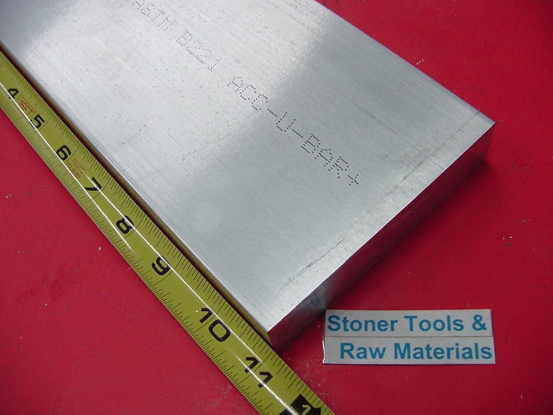 "2 Pieces 1/"" X 3/"" ALUMINUM 6061 FLAT BAR 8/"" long Solid 1.00/"" T6511 Mill Stock"
