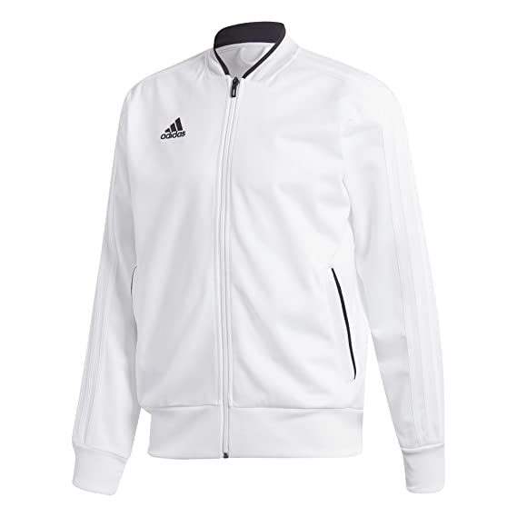 Adidas BQ6515 Chaqueta, Hombre, Blanco/Negro, M: adidas: Amazon.es: Deportes y aire libre