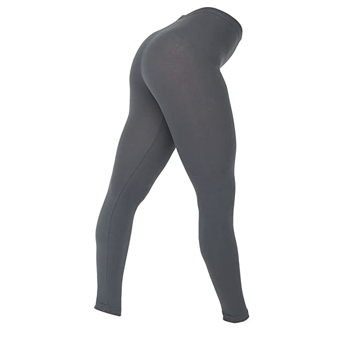 c8a9782e0c456 American Apparel Womens/Ladies Cotton Spandex Jersey Leggings at Amazon  Women's Clothing store: