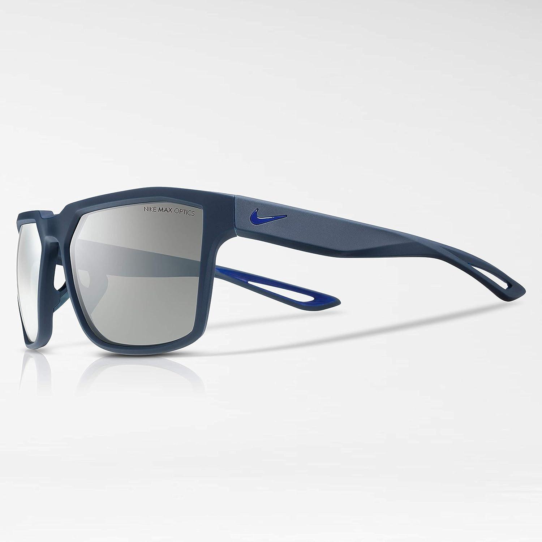 94b30b5158 Amazon.com  Nike EV0917-006 Bandit Frame Grey with Silver Flash Lens  Sunglasses