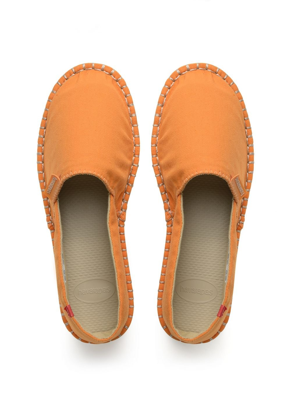 Havaianas - 4137014 - - Espadrilles - Mixte Adulte - Orange) Multicolore Orange (Light Orange) c52a99c - piero.space