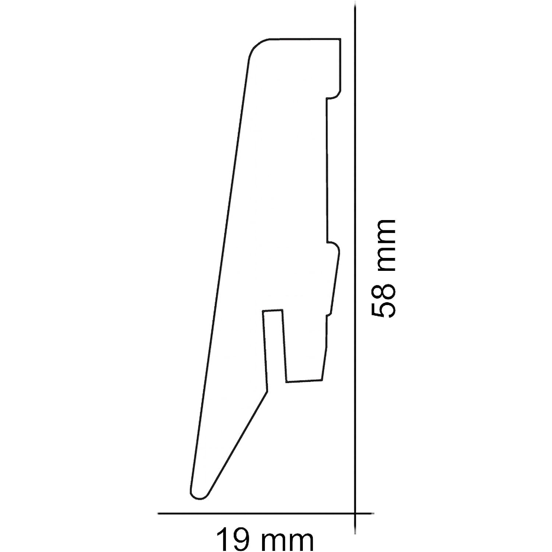 Laminatboden Musterst/ückCastello Classic 8 mm Stark Musterst/ück | Laminatboden, Flaxen Oak Nutzungsklasse AC4//32 1clic2go Klicksystem Sie kaufen 1 Musterst/ück mit 45 cm -