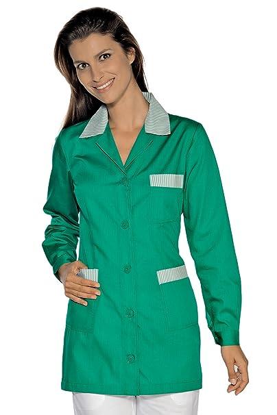 Isacco-túnica médica Marbella, Color Verde con diseño de Rayas, Color Verde: Amazon.es: Ropa y accesorios