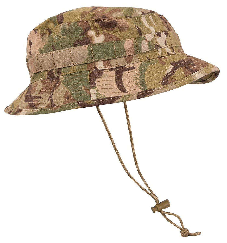 Kombat British Special Forces Short Brim Bush Hat - MTP Camo
