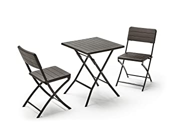 KitGarden - Conjunto Muebles Terraza/Jardín Plegable ...