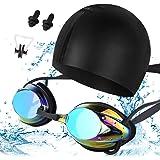 6b0d701510c Amazon.com   Dr.B Barracuda Optical Swim Goggle AQUACRISTAL with 3 ...