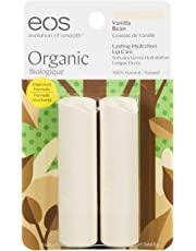 eos Vanilla Bean Smooth Stick Organic Lip Balm, 4g, Pack of 2
