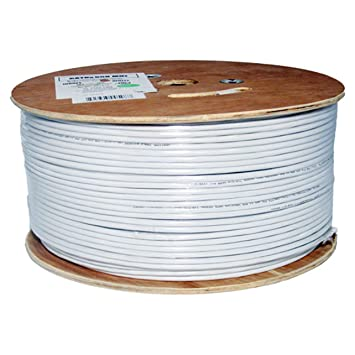 Vertical Cable Cat6A 10G, UTP, 23AWG, Solid Bare Copper, Plenum, 1000ft