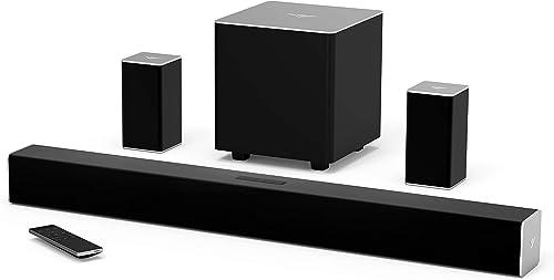 VIZIO 2017 32 Inch 5.1 Sound Bar, Speakers, Subwoofer Renewed