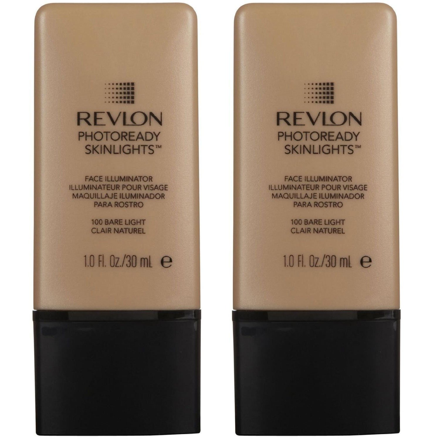 Revlon PhotoReady SkinLights Face Illuminator - Bare Light 100 (Pack of 2)