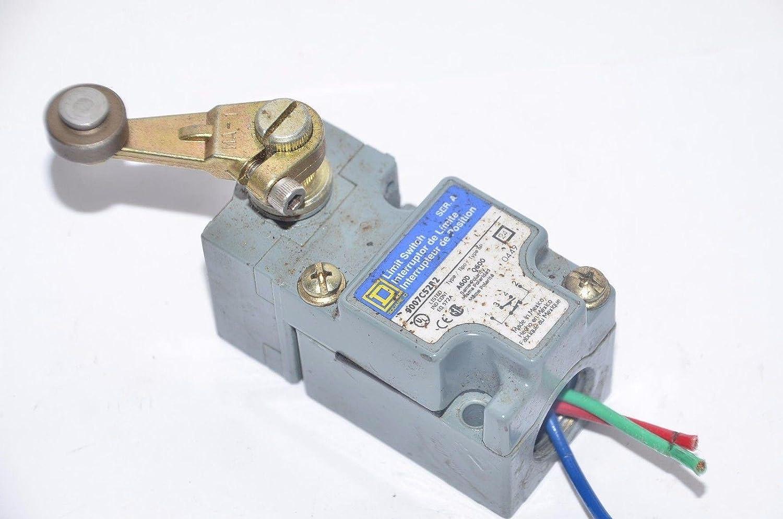 Amazon.com: 1- Square D 9007C52B2 Heavy Duty NEMA Limit Switch ...