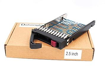 HP SFF 2.5/'/' HDD Drive Tray Caddy DL380 370 DL360 G5 G6 G7 SATA//SAS 371593-001