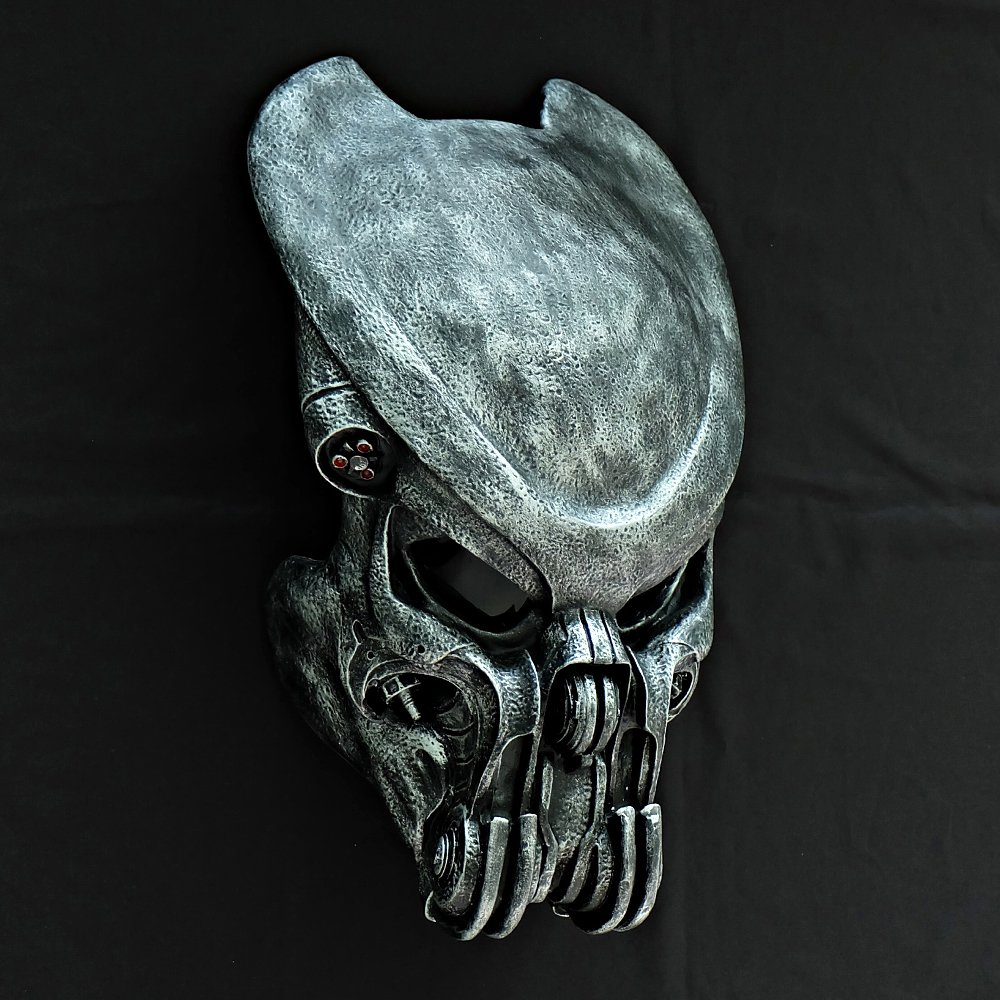 1:1 Full Scale Prop Replica AVP Predator Helmet Halloween Costume Wall Mask Home Decor Celtic PD25