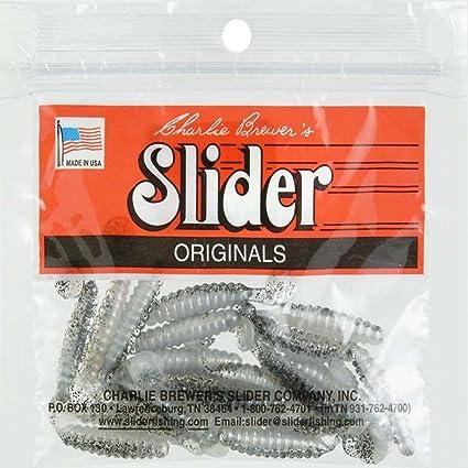 Amazon com : Slider Crappie/Panfish Grub Lure, 1-1/2-Inch, Tennessee