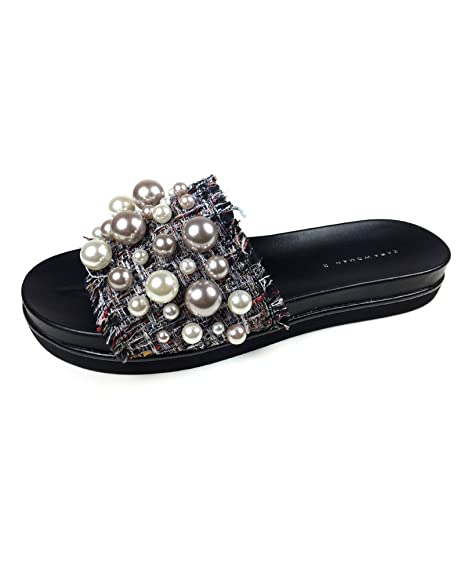 5e14c1cfa31 Zara Women Slides with faux pearls 5604 201 (42 EU