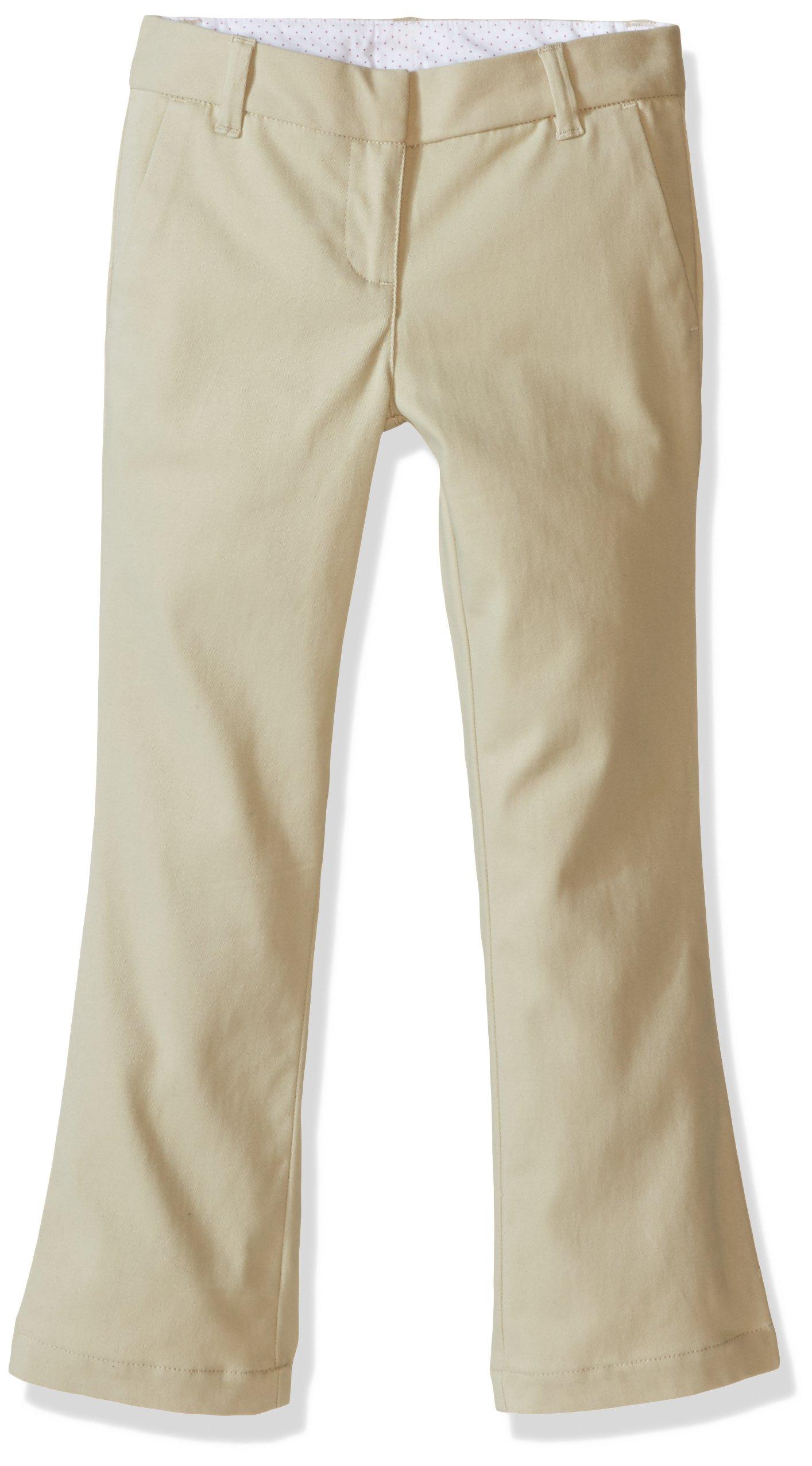 Dockers Plus Girls' Uniform Skinny Bootcut, Khaki, 18.5