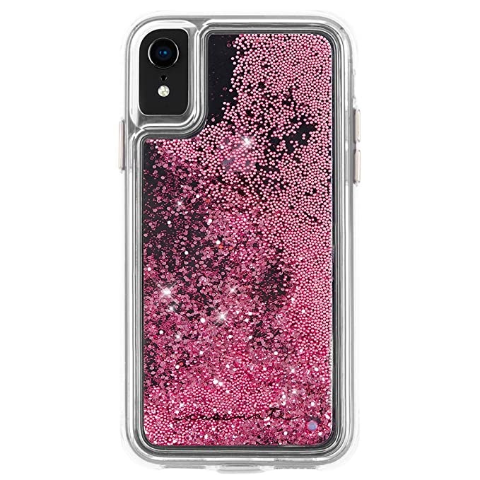 3b8844489ebea3 Image Unavailable. Image not available for. Color: Case-Mate - iPhone XR  Case - WATERFALL - iPhone 6.1 - Rose Gold