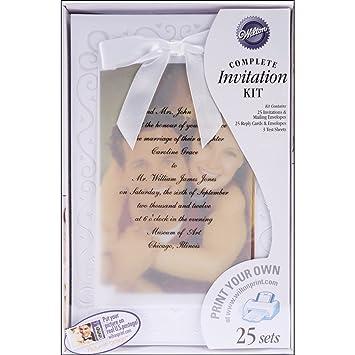 Wilton The Two Of Us Wedding Invitation Kit
