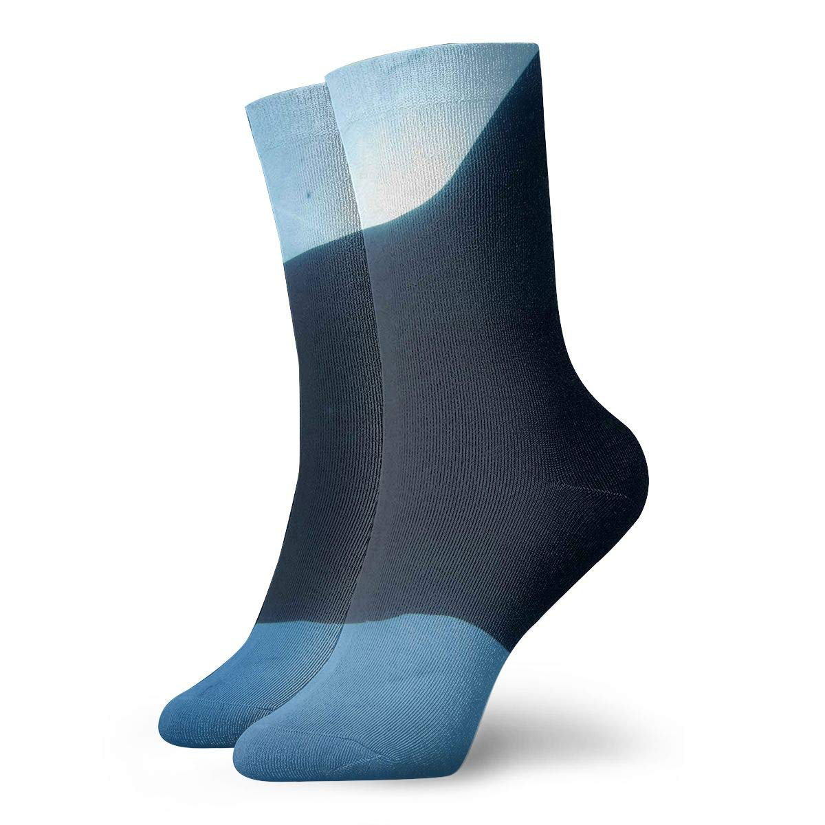 WEEDKEYCAT Whale Shark in Ocean Adult Short Socks Cotton Gym Socks for Mens Womens Yoga Hiking Cycling Running Soccer Sports