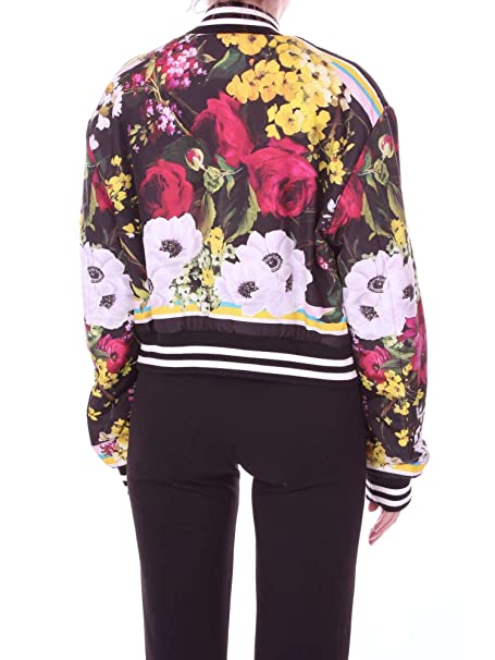 Dolce & Gabbana DOLCE & GABBANA F9981THPMOE chaqueta Mujer Fantasía negra 40: Amazon.es: Ropa y accesorios