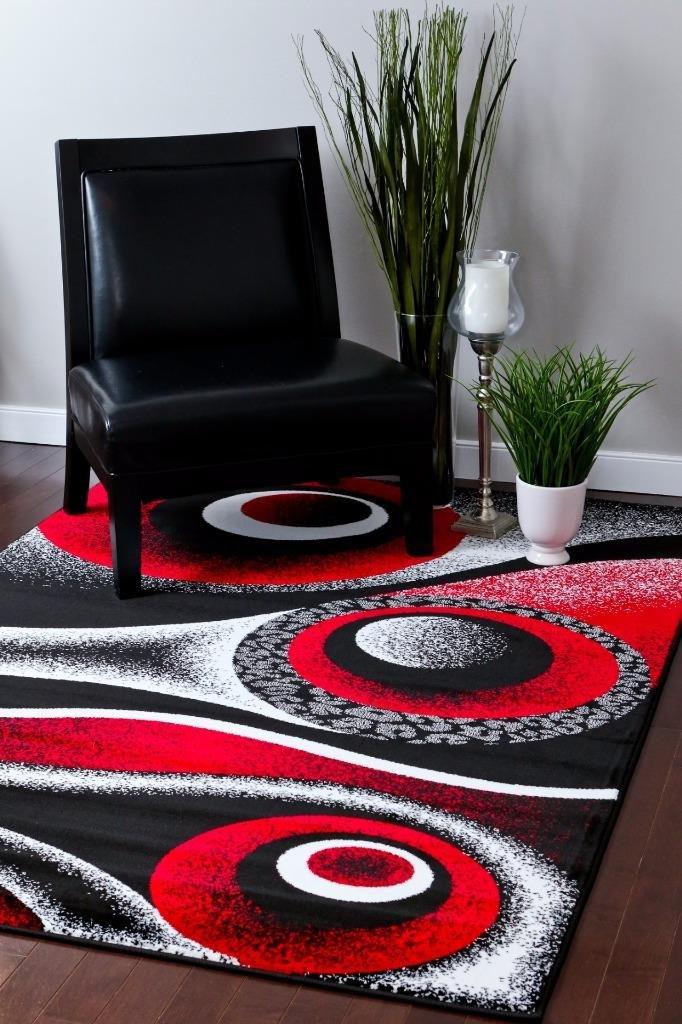 Amazoncom 1504 Red 710x106 Area Rug Carpet Large New Kitchen