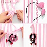 "QtGirl Baby Girls Hair Bow Holder 30"" Long Bow"