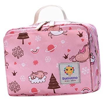 Sunveno Diaper Nappy Bag Waterproof Reusable Washable Baby organizer ToteSatchel