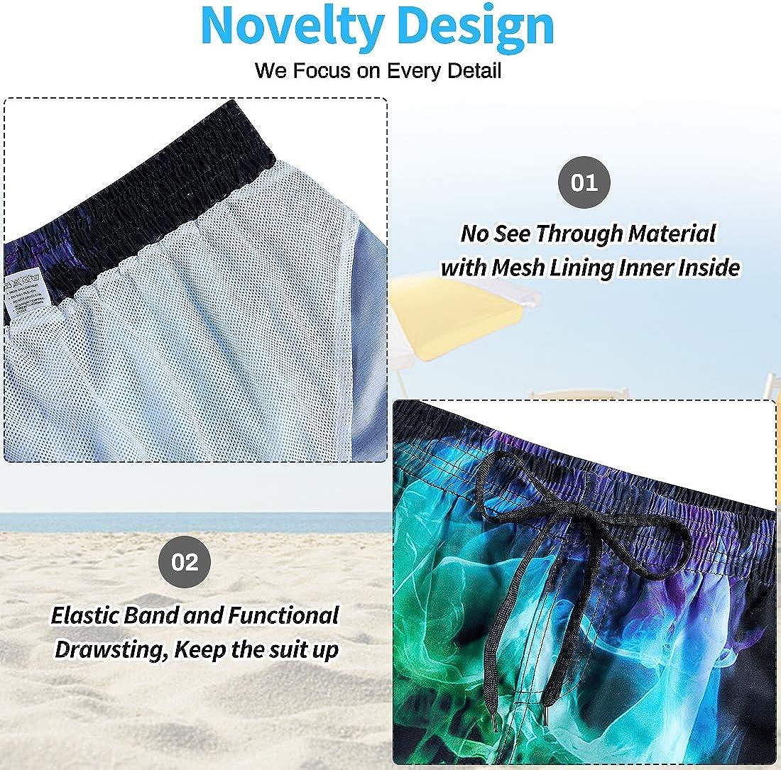 NEWIATAR Ba/ñador de para Hombre Pantalones Cortos Playa para Hombre Shorts Tallas S-XXXL