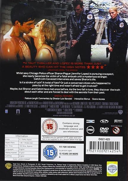 Angel Eyes [Reino Unido] [DVD]: Amazon.es: Jennifer Lopez ...
