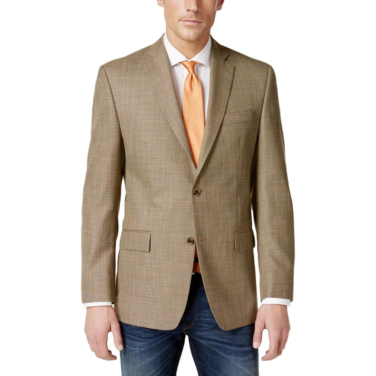ee90ff6ede1 Top1  MICHAEL Michael Kors Mens Classic Fit Pattern Two-Button Blazer