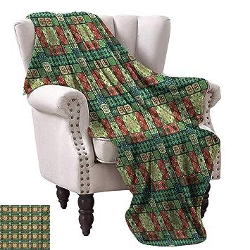 Amazon.com: Anyangeight Throw Blanket,Portuguese Azulejo ...