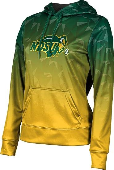 School Spirit Sweatshirt North Dakota State University Girls Zipper Hoodie Digital