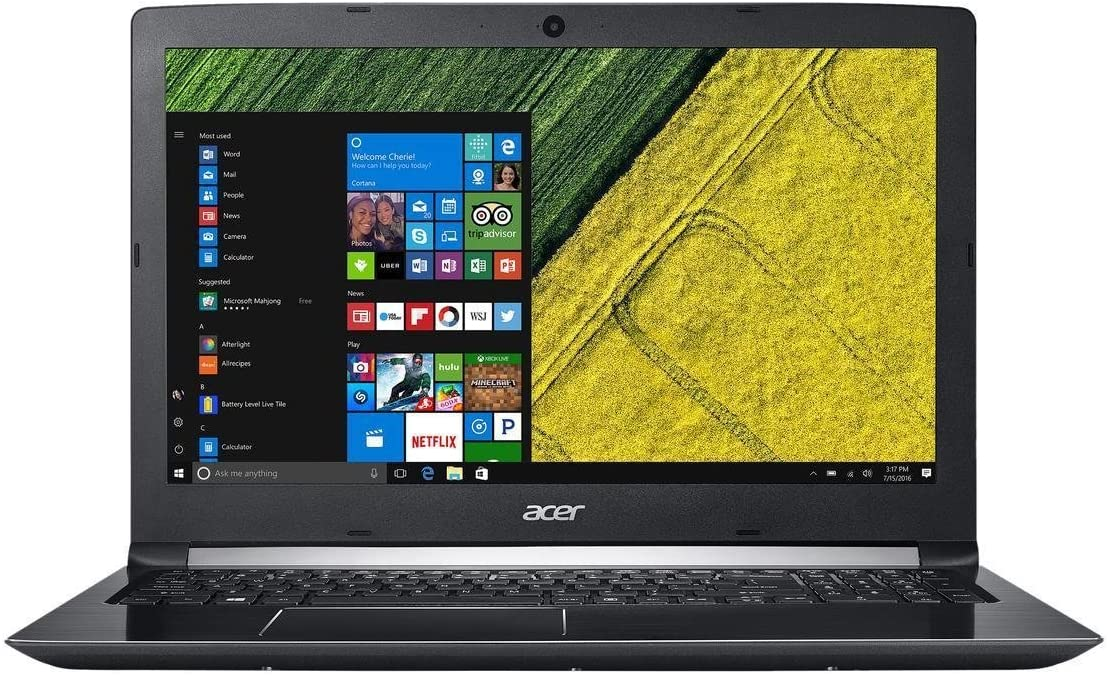 """2018 Flagship Acer Aspire 15.6"""" Full HD Business Laptop, Intel Core i3-7100U 2.4GHz 8GB DDR4 256GB SSD Intel HD Graphics 620 802.11ac Bluetooth HDMI Webcam USB Type-C Battery Life up to 7 Hrs Win 10"""