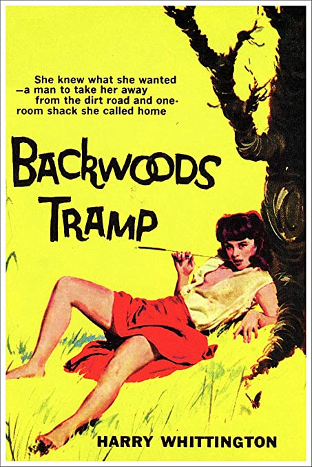 Amazon com: Backwoods Tramp Vintage Pulp Novel Cover Retro
