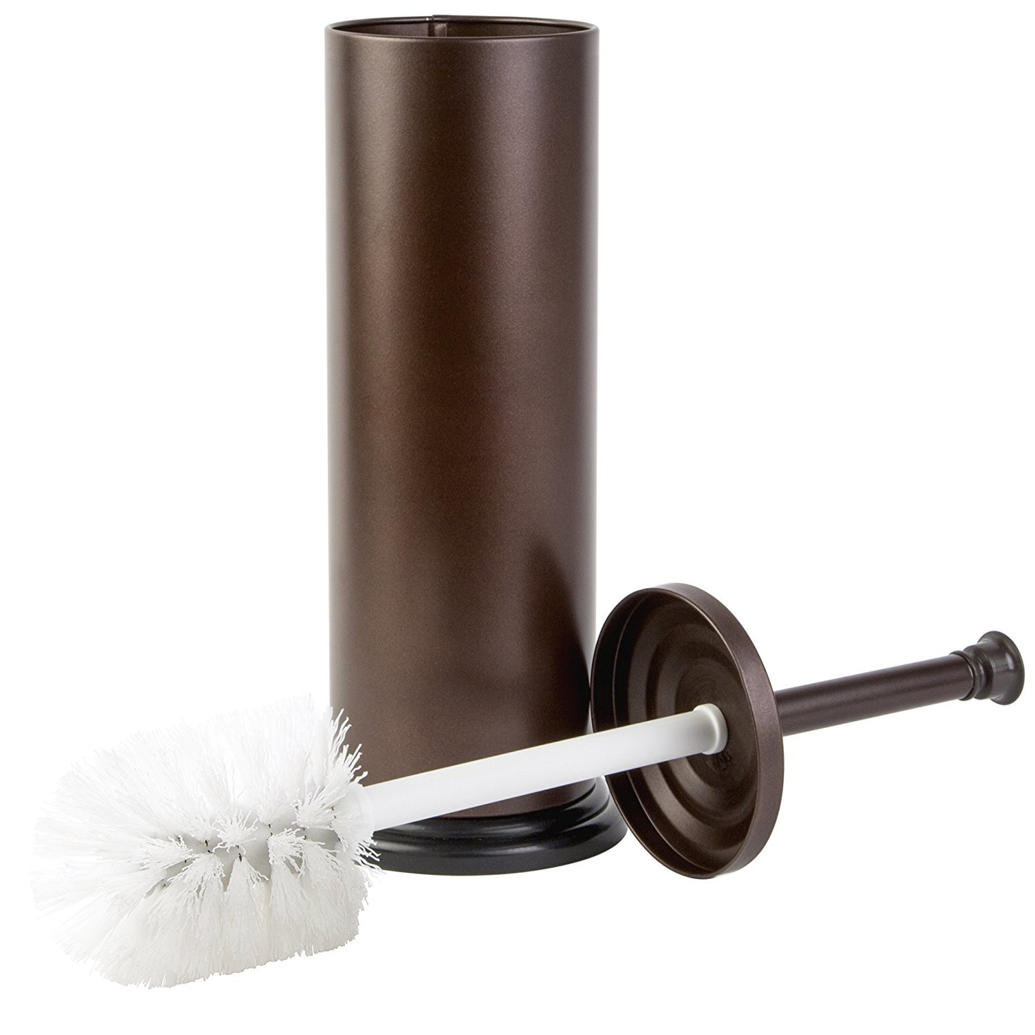 Richards Homewares Toilet Brush with Holder Bathroom Cleaning Brush with Matching Stand – Bronze RI-2004982