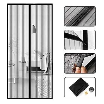 Favorit Fliegengitter Tür Moskitonetz ,Pomisty Magnet Moskitonetze für QA63