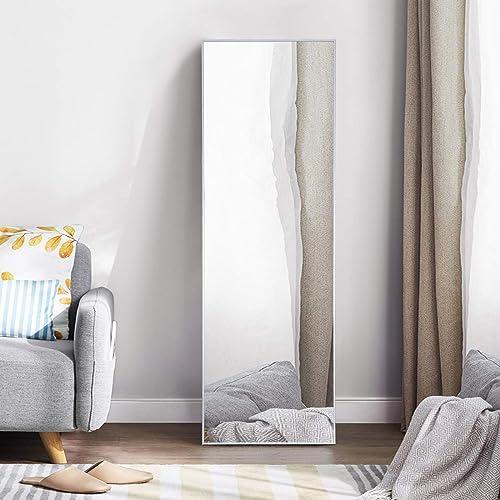 65″ 22″ Full Length Mirror Metal Aluminum Alloy Frame Floor Mirror
